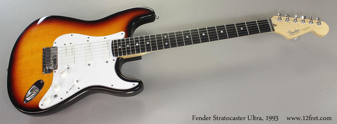Fender Stratocaster Ultra, 1993 Full Front View