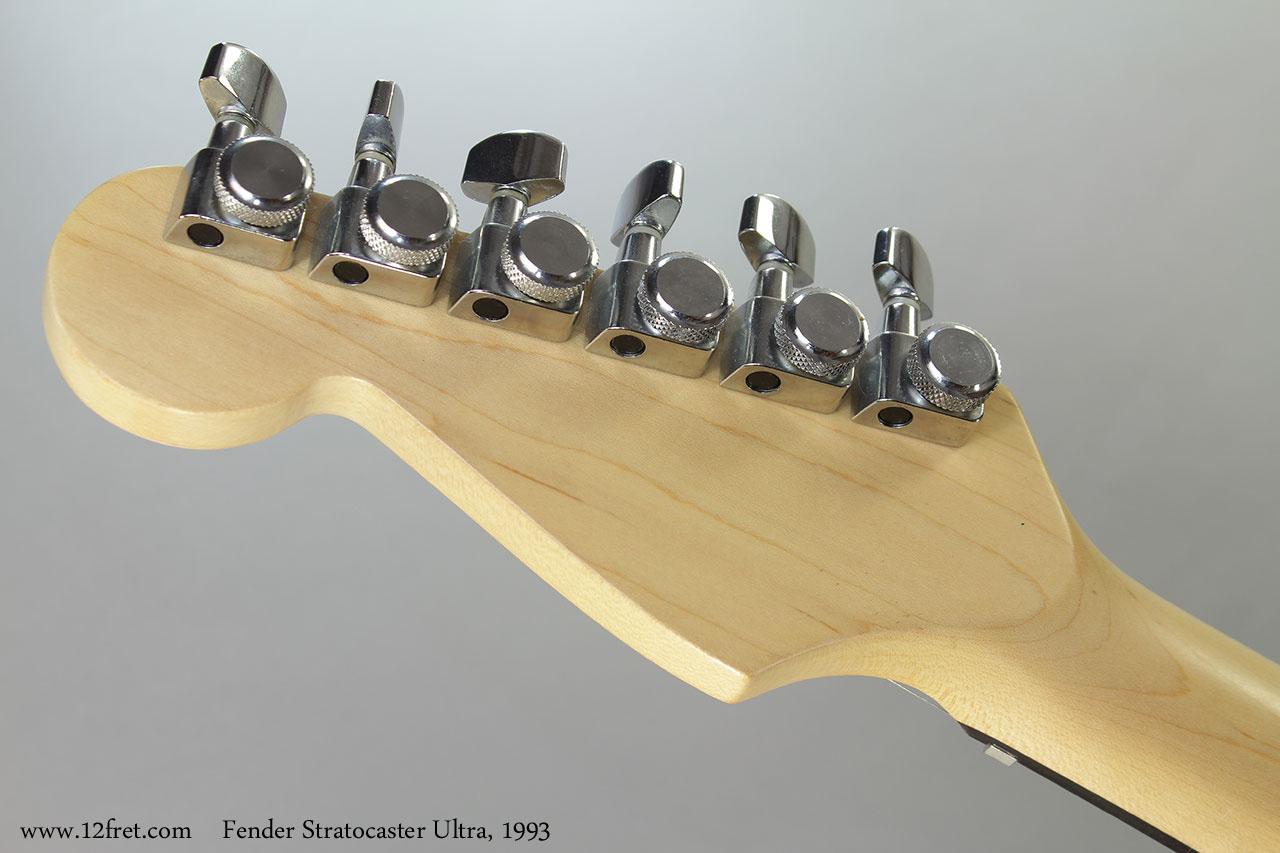 Fender Stratocaster Ultra, 1993 Head Rear