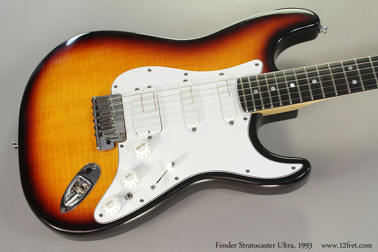 Fender Stratocaster Ultra, 1993 Top