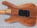 Fender Strat Walnut 1983 back