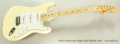 Fender Stratocaster Maple Neck Blonde, 1974 Full Front View