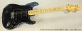 Fender Stratocaster Hardtail Black, 1979 Full Front View
