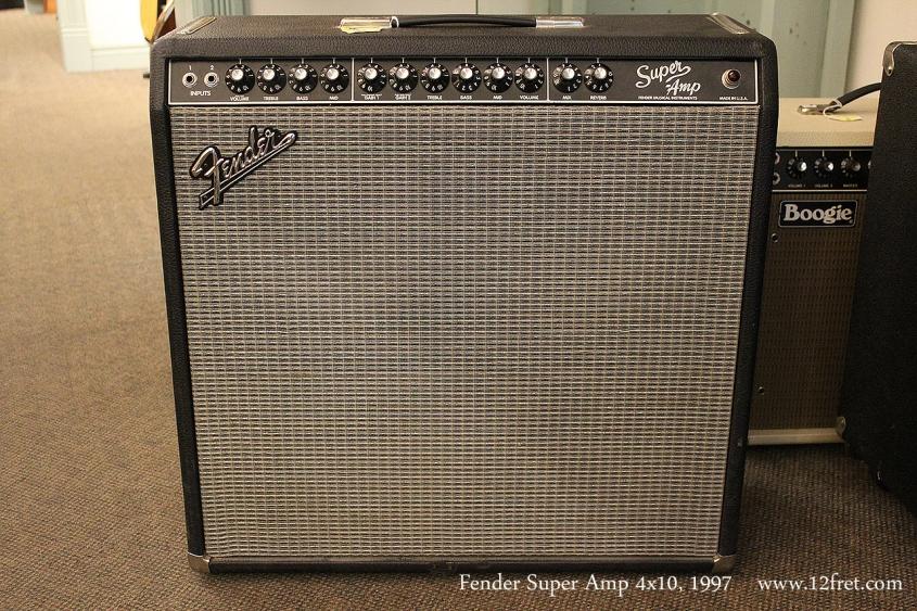 Fender Super Amp 4x10, 1997 Full Front View