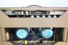 Fender Super Amp \'Brownface\', 1962 Rear Panel View