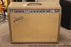 Fender Super Amp Brownface, 1962 Full Front View