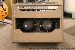 Fender Super Amp Brownface, 1962 Full Rear Tilt View