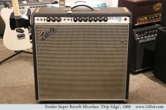 Fender Super Reverb Silverface 'Drip Edge', 1969 Full Front View
