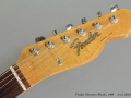 Fender Telecaster Blonde 1968 head front