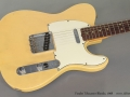 Fender Telecaster Blonde 1968 top
