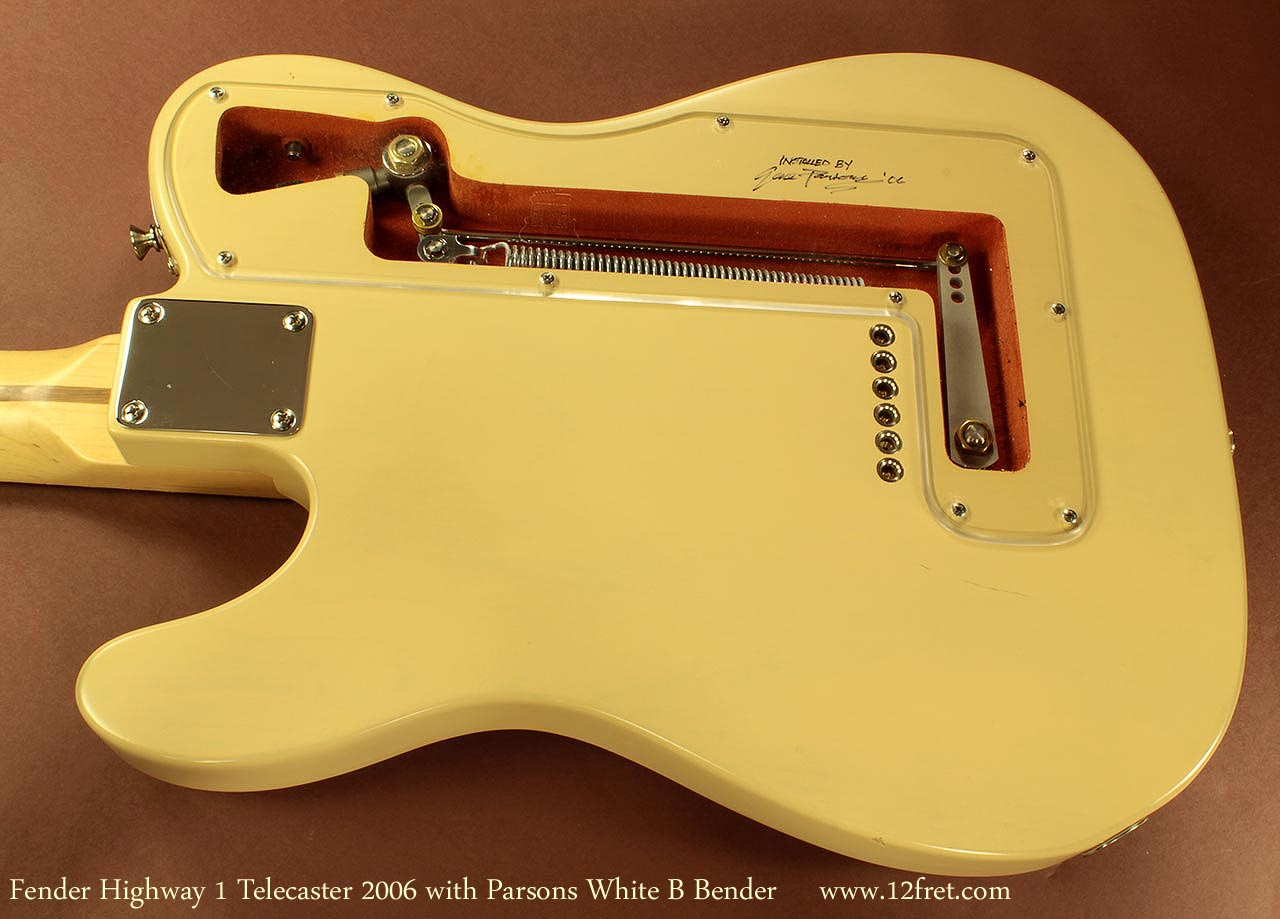 B Bender Guitar >> Fender Telecaster With Parsons White B Bender And Keith Tuners