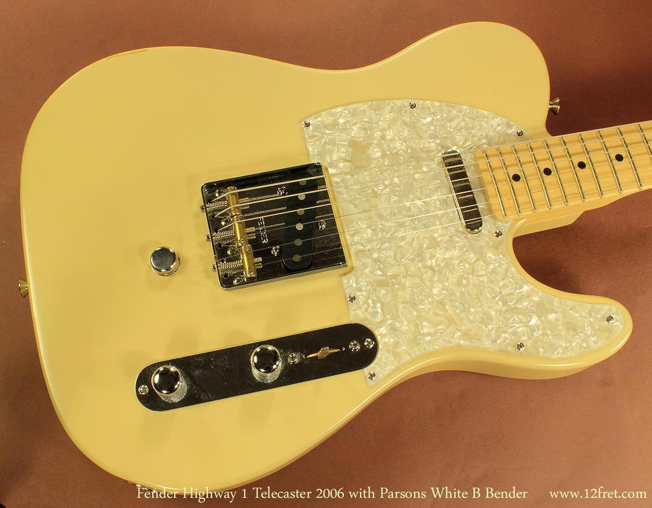 fender telecaster with parsons white b bender and keith tuners 2006. Black Bedroom Furniture Sets. Home Design Ideas