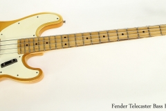 Fender Telecaster Bass Blonde, 1970   Full Front View
