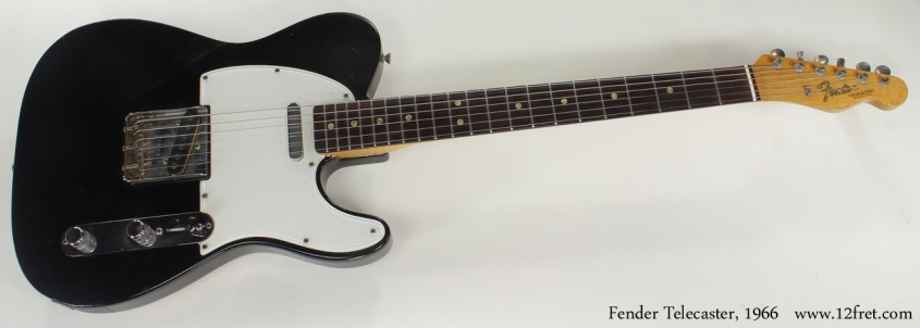 Fender Telecaster Refinished 1966 full front view