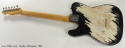 Fender Telecaster Refinished 1966 full rear view