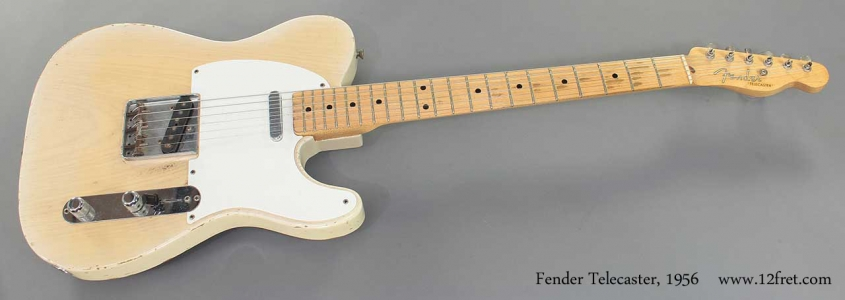 Fender Telecaster 1956 full front view