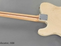 Fender Telecaster 1956 full rear view