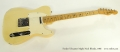 Fender Telecaster Maple Neck Blonde, 1966 Full Front View