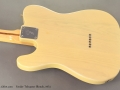 Fender Telecaster Blonde  1974 back