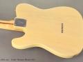 Fender Telecaster Blonde  1974 back