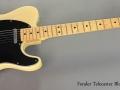 Fender Telecaster Blonde 1974 full front view