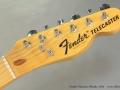 Fender Telecaster Blonde  1974 head front