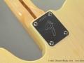 Fender Telecaster Blonde  1974 neckplate