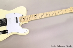 Fender Telecaster Blonde, 1976  Full Front View