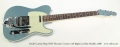 Fender Custom Shop NOS Telecaster Custom with Bigsby Ice Blue Metallic, 2008 Full Front View