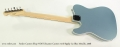 Fender Custom Shop NOS Telecaster Custom with Bigsby Ice Blue Metallic, 2008 Full Rear View