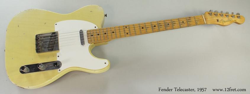 Fender Telecaster, 1957 Full Front View