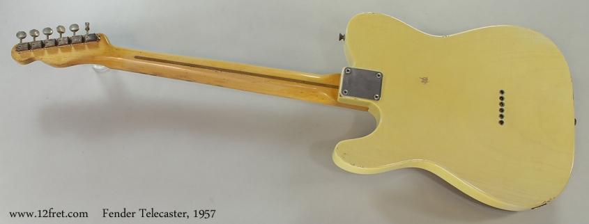 Fender Telecaster, 1957 Full Rear View