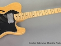 1978 Fender Telecaster Thinline Natural full front view