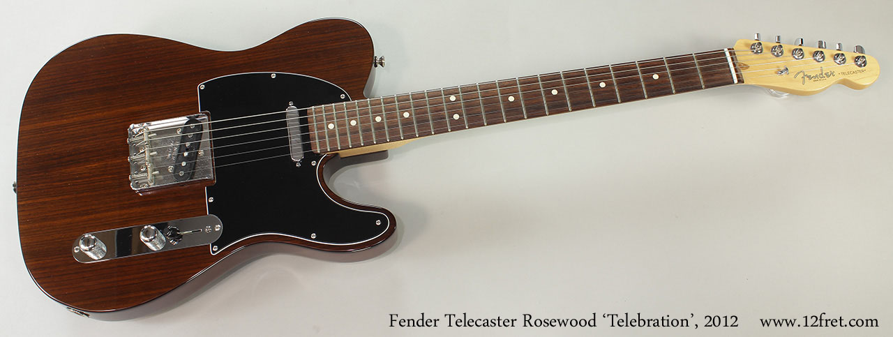 Fender Telecaster Rosewood 'Telebration', 2012 Full Front VIew