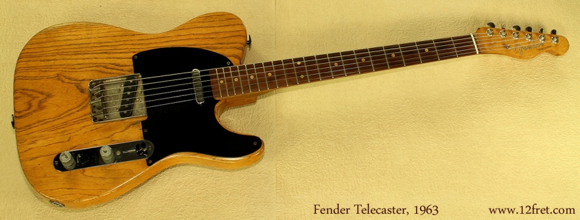 Fender Telecaster 1963 ful front