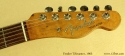 Fender Telecaster 1963 head front