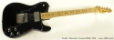 Fender Telecaster Custom Black 1974 full front view