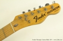 Fender Telecaster Custom Black 1974 head front