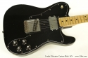 Fender Telecaster Custom Black 1974 top