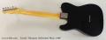 Fender Telecaster, Refinished Black, 1968 Full Rear View