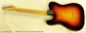 Fender Telecaster Sunburst Refinish 1966 full rear view