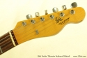 Fender Telecaster Sunburst Refinish 1966 head front