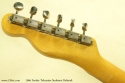 Fender Telecaster Sunburst Refinish 1966 head rear