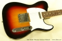 Fender Telecaster Sunburst Refinish 1966 top