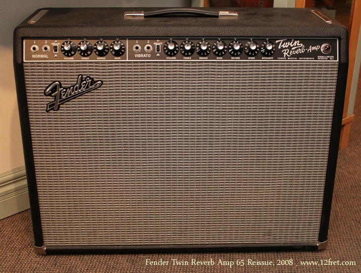 Fender Twin Reverb 65 Reissue Amp 2008 front
