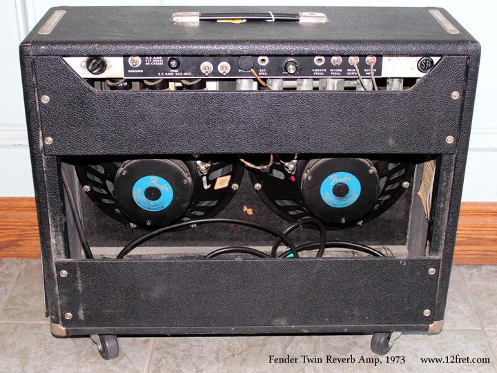1973 Fender Twin Reverb Amplifier