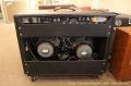 Fender Twin Reverb Amplifier, 1976 Full Rear View