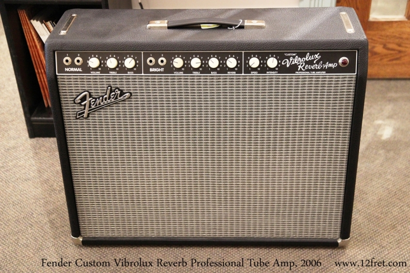 Fender Custom Vibrolux Reverb Professional Tube Amp, 2006  Full Front View