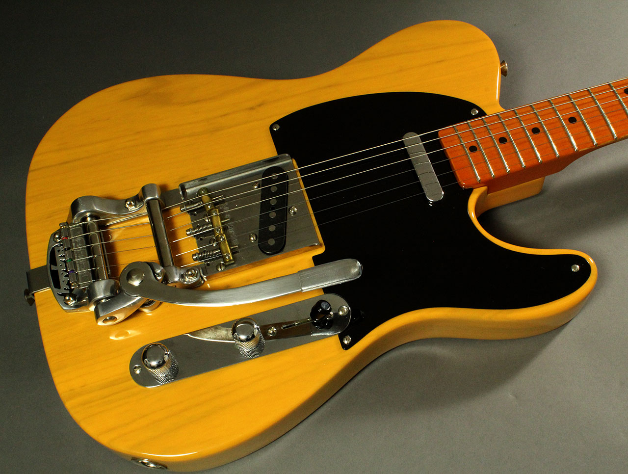 fender telecaster 1952 reissue with vibramate and bigsby