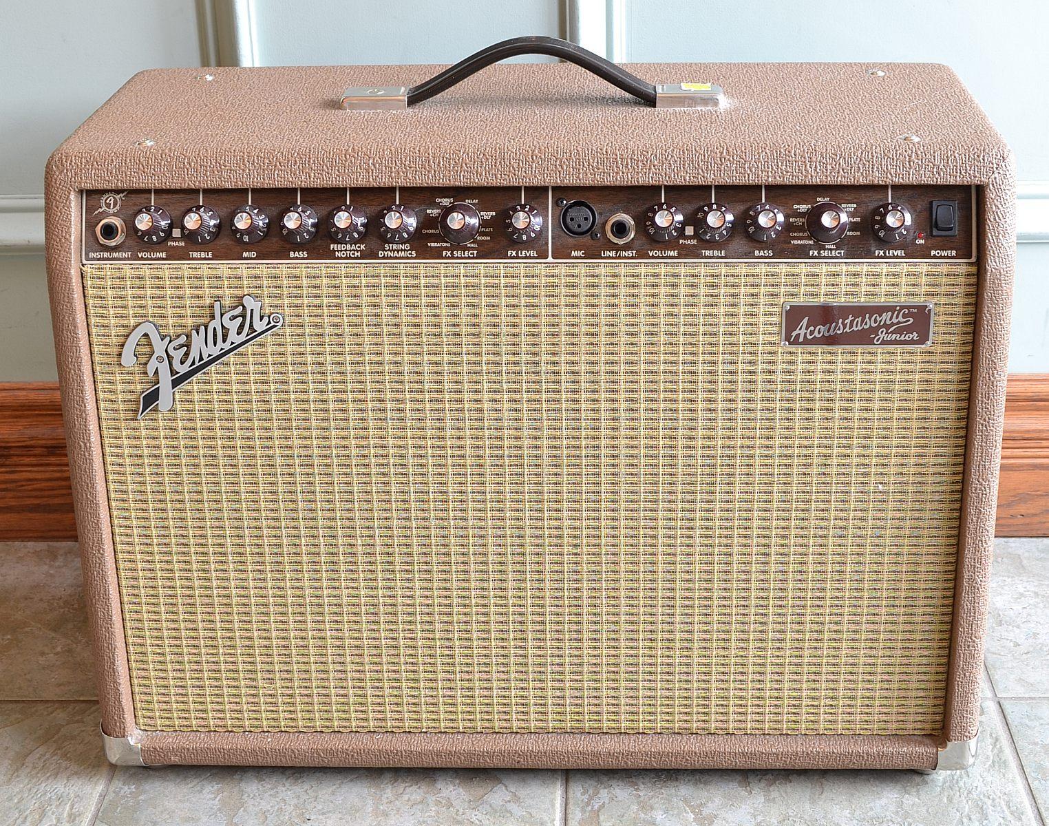 fender acoustasonic jr dsp used sold the twelfth fret guitarists 39 pro shop