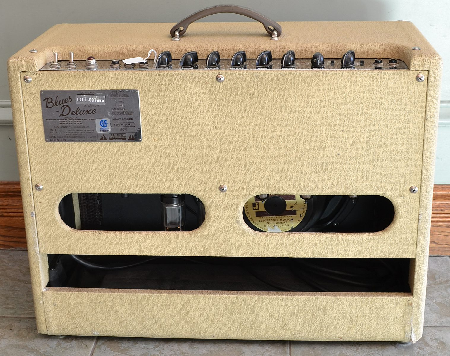 Fender blues deluxe serial number dating